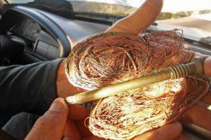 Piezas de bronce y cableado de cobre que pasan de contrabando a Colombia. Patrimonio cultural de Venezuela en riesgo.