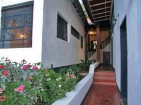 Pasillos externos de Hacienda Boquerón o La Casa de La Hacienda, Monagas. Patrimonio histórico de Venezuela.