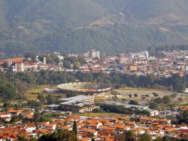 La ciudad de Mérida y su plaza monumental. Patrimonio cultural de Venezuela.