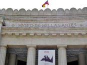 Museo de Bellas Artes, en restauración. Patrimonio cultural de Venezuela.