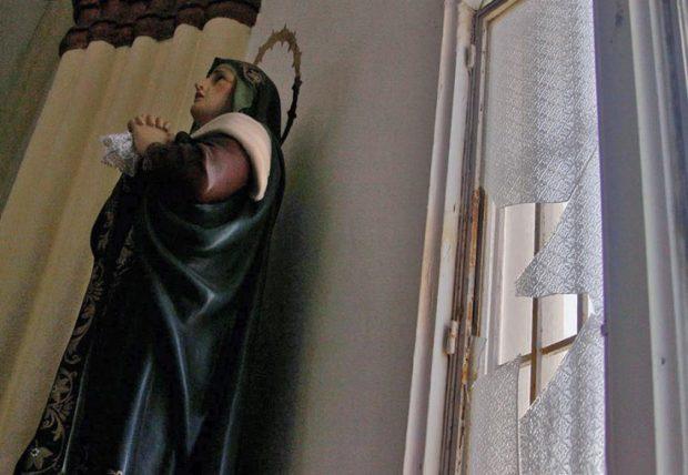 Iglesia Santa Lucía, patrimonio en peligro. Maracaibo, estado Zuliza. Venezuela.