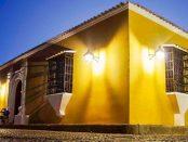 Casa del Tesoro, en el casco histórico de Coro, estado Falcón. Casco histórico de Coro, patrimonio mundial de Venezuela.