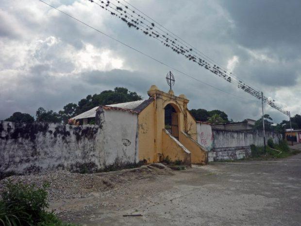 Cementerio municipal de Barinitas. Patrimonio cultural en peligro. Barinas, Venezuela.