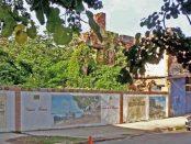La demolida Casa Blohm en el casco histórico de Ciudad Bolívar. Patrimonio cultural venezolano en peligro.