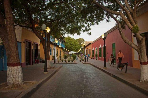 Casco histórico de Coro, estado Falcón, Venezuela.