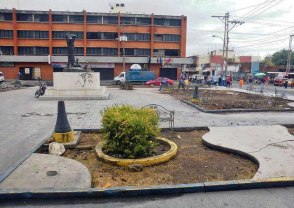 Plaza Nuestra Señora de la Corteza / Plaza la Burrita, patrimonio histórico de Acarigua, estado Portuguesa, Venezuela.