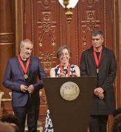 RCR Architects en el Premio Pritzker 2017. Foto Plataforma Arquitectura