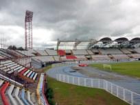 Vista lateral del estadio Agustin Tovar.Foto Marinela Araque. Año 2017