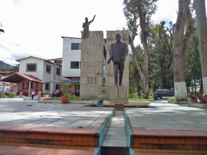 Proponen reubicar las estatuas de Mérida. Patrimonio cultural venezolano en peligro.