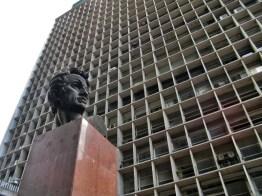 Torre 2 de El Silencio, del complejo arquitectónico Centro Simón Bolívar. Foto Luis Chacín.