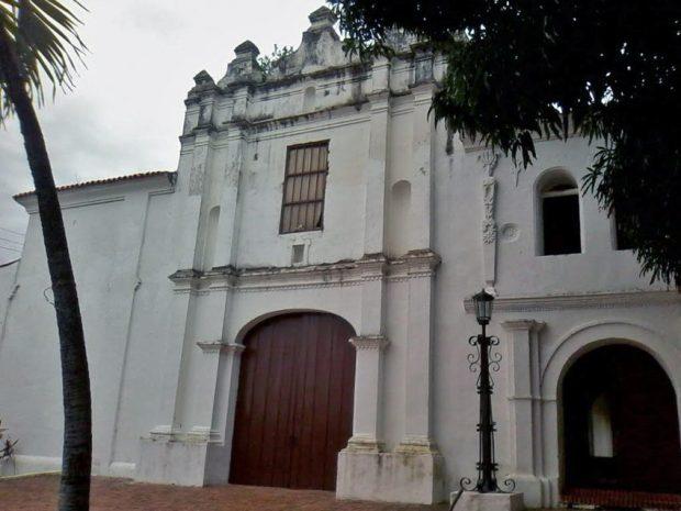 Sede del vicerrectorado de la unellez. Antiguo convento San Francisco. Monumento Histórico Nacional de Venezuela.