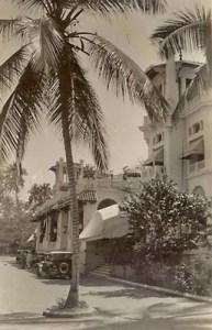 Hotel Miramar en 1928. Monumento histórico Nacional de Venezuela en peligro.