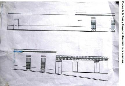 Casa natal de Cristóbal Mendoza. Patrimonio en peligro del estado Trujillo, Venezuela.