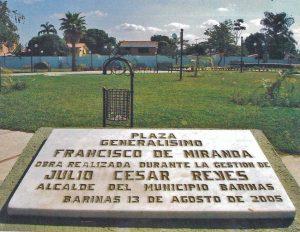Plaza Miranda, de Barinas. Patrimonio cultural venezolano en riesgo.