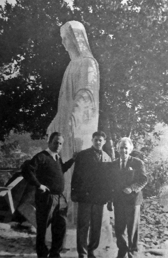 Monumento a Nuestra Señora de las Nieves. Patrimonio cultural de Mérida, Venezuela.