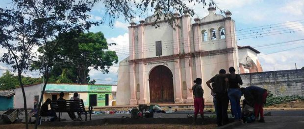 Iglesia Nuestra Señora de la Corteza, municipio Ospino del estado Portuguesa. Monumento Histórico Nacional de Venezuela.
