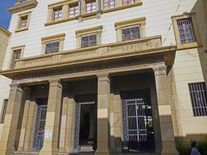 Monumento a Pedro Rincón Gutiérrez, Rector de Rectores. Patrimonio cultural de Mérida, Venezuela.