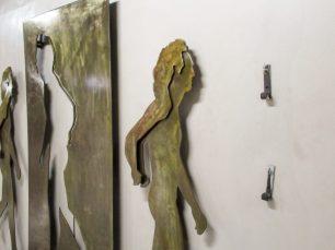 Vandalizado el arte en el metro de caracas