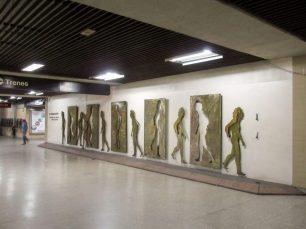 patrimonio artístico del metro de caracas en peligro