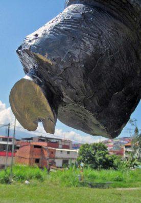 Monumento a Los conquistadores del Pico Bolívar, Mérida. Patrimonio cultural de Venezuela en peligro.