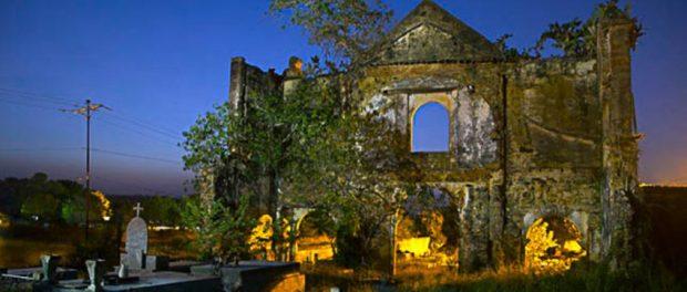 Ruinas de la iglesia de San José de Curataquiche, convento y cementerio. Patrimonio cultural de Anzoátegui, Venezuela.