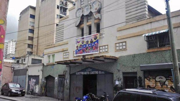 Cine Rex, patrimonio histórico de Caracas, Venezuela, en peligro.