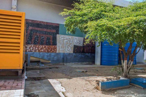 TaimaTaima, mural de Domingo Medina en la Gobernación de Falcón. Patrimonio cultural en peligro.
