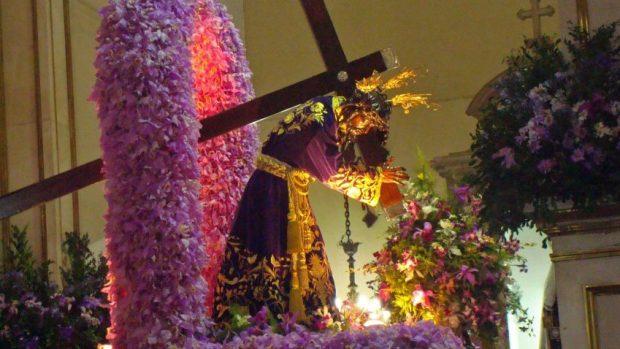 Procesión del Nazareno de San Pablo. Tradición religiosa de cada Miércoles Santo. Patrimonio cultural inmaterial de Caracas, Venezuela.