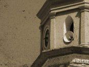 Reloj de Lobatera, en la iglesia parroquial Nuestra Señora de Chiquinquirá. Lobatera, estado Táchira. Patrimonio cultural de Venezuela.