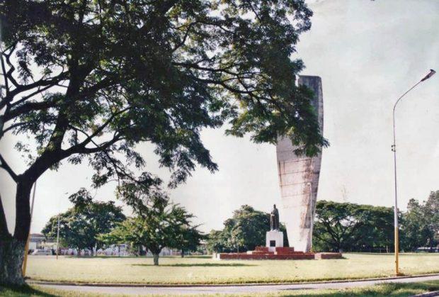 Monumento La Espiga o Monumento a la Agricultura. Patrimonio cultural de Venezuela.