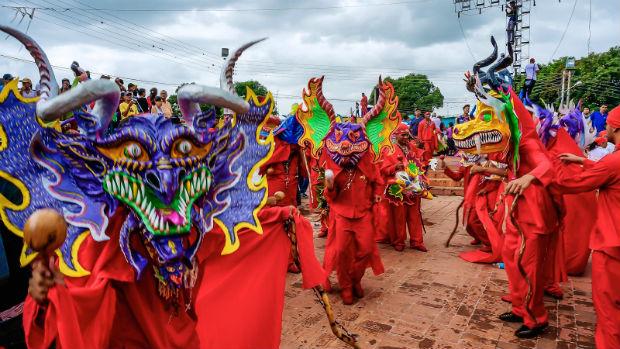 La danza de los Diablos Danzantes de Yare
