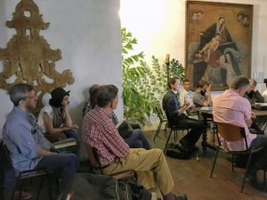 Taller-beca de fotogrametría en la Quinta de Anauco. Organizado y financiado por IAM Venezuela y The Arc/k Project