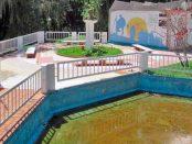Plaza y monumento a Mahatma Gandhi, patrimonio cultural de Mérida, Venezuela.