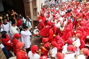 Celebración del día de Corpus Christi en Yare