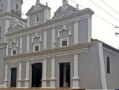 Iglesia San Juan Bautista, de San Carlos, estado Cojedes. Monumento nacional en peligro. Venezuela.