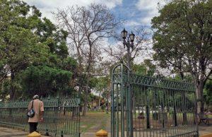 Monumento a La Batalla, parque Ayacucho de Barquisimeto. Patrimonio cultural de Venezuela en peligro.