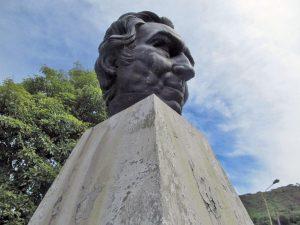 Monumento a Humboldt. Patrimonio cultural de Mérida, Venezuela. Escultura.