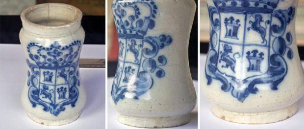 Colección de cerámica hispánica del Museo de Arte Colonial de Caracas, Quinta de Anauco. Patrimonio cultural de Venezuela.