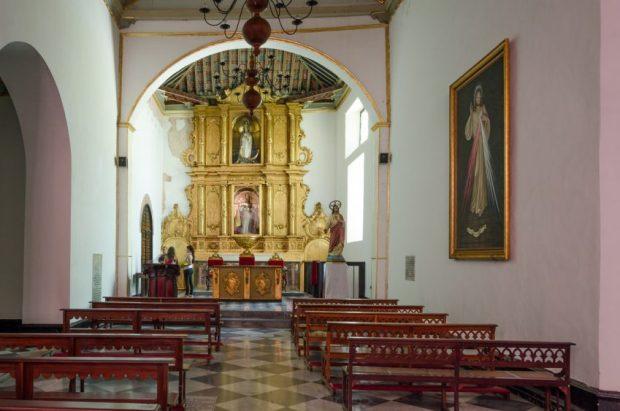 Capilla de San Pedro, altar Mayor de San Pedro. Catedral de Caracas, Fotografía Luis Chacín, 2018.