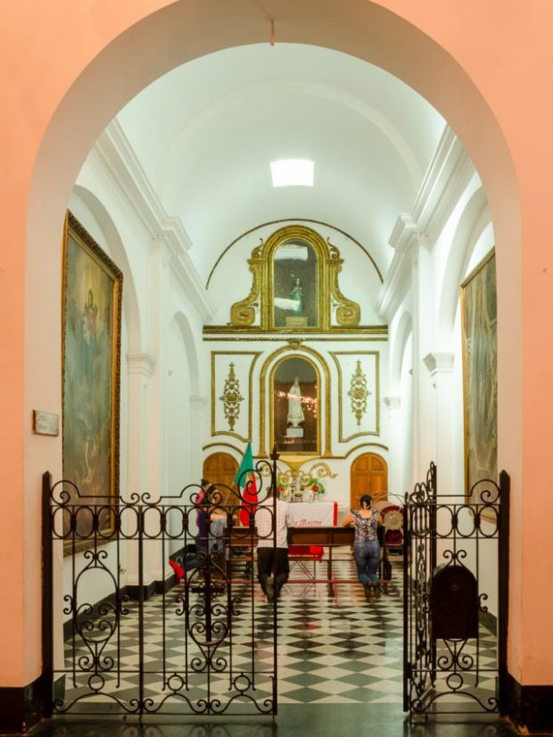 Capilla Santiago Apostol, Catedral Metropolitana de Caracas, fotografía Luis Chacín, 2018.