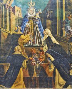 Fiesta en honor a Santo Domingo de Guzmán, en Mamporal. Municipio Buroz, Miranda. Patrimonio intangible de Venezuela. Tradiciones populares.