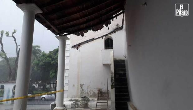 Catedral de San Carlos. Techo