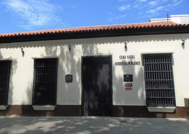 Museo Andrés Eloy Blanco. Patrimonio cultural de Cumaná, Sucre. Patrimonio cultural de Venezuela.