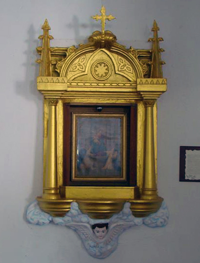 Obra de Ciro Romero, pintor costumbrista de Labotera, de principios del siglo XX. Patrimonio cultural de Venezuela.