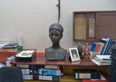 Busto de Manuelita Sáenz / Monumento a Manuela Sáenz Aizpuru. Patrimonio cultural de la ciudad de Mérida, Venezuela.