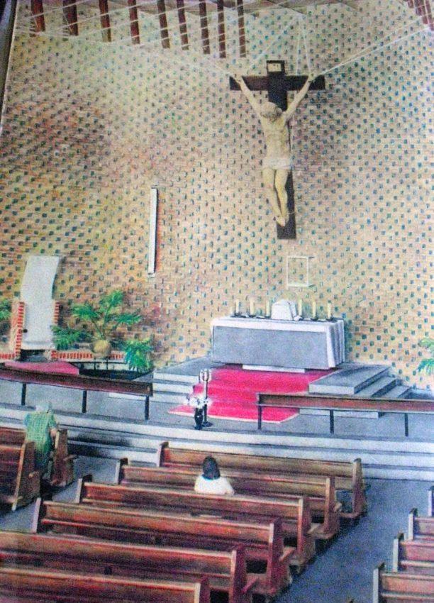 Iglesia Divino Redentor, de San Cristóbal, estado Táchira. Obra del arquitecto Fruto Vivas. Patrimonio arquitectónico de Venezuela.
