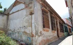 La casa natal del prócer José María España data del siglo XVIII. Patrimonio arquitectónico de Venezuela en peligro.
