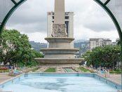 El estirpe caraqueño de la plaza Francia de Altamira. Caracas, Venezuela. Foto Luis Chacín, agosto 31 de 2018.