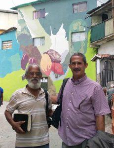 Barrio El Calvario. Proyecto Arqueología simbólica de El Calvario. El Hatillo, estado Miranda. Gran Caracas.