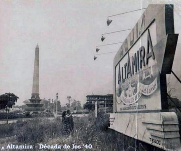 Plaza Francia de Altamira. Estirpe